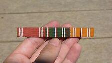 WW2 USN US Navy Ribbon bar 1/2 inch Good Conduct Asiatic ETO BRITISH MADE