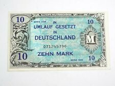1944 Germany 10 Mark - Allied Military Currency - P 194
