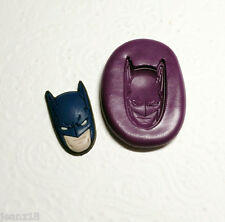 Silicone Mold Bat Man Bat Mould (26mm) Fondant Cake Topper Clay Chocolate Resin