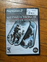 Medal of Honor: European Assault - Playstation 2 PS2 Game - Complete & Tested