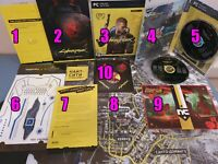 Cyberpunk 2077 - Souvenir collectible products set (10 in 1)