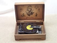 Thorens Vintage Music Box with One Disc Made in Switzerland User Item