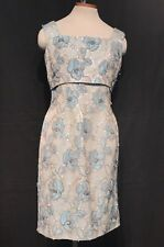 Vintage 60s Brocade Dress Tapestry Iridescent Sequins Damask Sheath FREDERICK'S