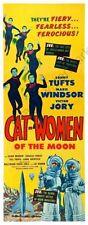 Cat-Women Of The Moon Movie Poster Insert 14inx36in 36cmx92cm Replica