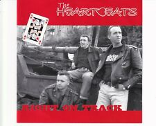 CD THE HEARTBEATS	right on track	EX+ (B4880)