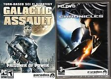 tarr chronicles & Galactic Assault - Prisoner of Power  new&sealed