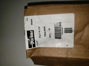 """Parker Watts F602-044A 1/2"""" air filter"""