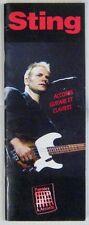 Sting Recueil de Partitions Accords Guitare et clavier