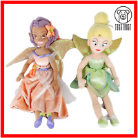 Fira and Tinkerbell Fairies Soft Toy Disney Lot Stuffed Plush Character Bundle