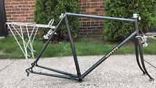 VTG Miyata Road 210 Two Ten  Bike Frame 58cm Steel Frame Forks Rack Brake Set