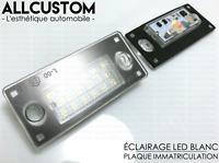 LED ECLAIRAGE BLANC PLAQUE IMMATRICULATION pour AUDI A3 8L 2000-2002 8D9943021G