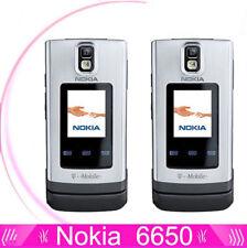 Original 6650F Nokia 6650 fold 3G HSDPA 850 / 2100 Bluetooth GPS Radio flipPhone