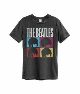 Amplified The Beatles Hard Days Night Official Merchandise T-Shirt M/L/XL Neu