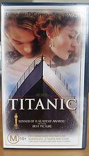 VHS Titanic - Leonardo Dicaprio - Kate Winslet