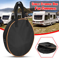 Large Heavy Duty Cable Storage Bag Case Hook Up Fit Motorhome Caravans Camper