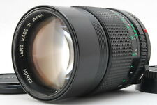 """""""MINT""""  CANON New FD NFD 135mm f2.8 1.2.8 MF Telephoto Lens From Japan"""