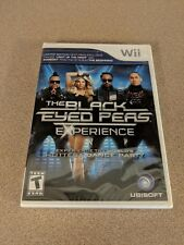 THE BLACK EYED PEAS EXPERIENCE WII NINTENDO BRAND NEW SEALED!