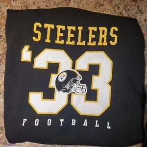 Nwt Pittsburgh Steelers NFL Team Apparel Women's Large Icer Brands Hoodie New