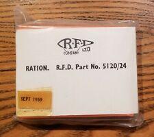 Vintage Nos Rfd Company Ltd. candy ration - 1969