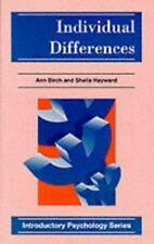 Individual Differences (Introductory Psychology Series), Ann Birch, Sheila Haywa