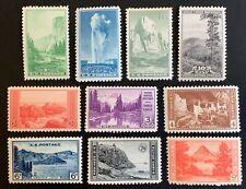 United States #740-9 Mnh. $15.95 Cv.
