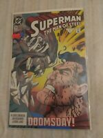 Superman: The Man of Steel #19 (Jan 1993, DC) The Death Of Superman Doomsday NM