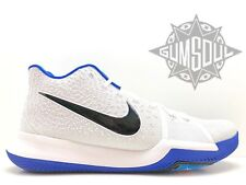 431b66830f38 NIKE KYRIE 3 DUKE BROTHERHOOD HYPER COBALT BLUE WHITE IRVING 852395 102 sz  14