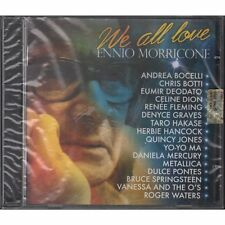 CD ENNIO MORRICONE WE ALL LOVE NUOVO SIGILLATO NEW SEAL