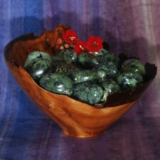 1 GREEN JADE Peru Tumbled Stone - Consciously Sourced Healing Crystals