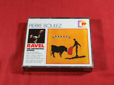 Ravel  THE ORCHESTRAL WORKS  Pierre Boulez - Sony 3 CD-Set factory sealed