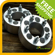 2 Wheel Spacers Adapters 2 inch for ALL JEEP TJ, YJ, XJ, MJ, KJ, KK, ZJ