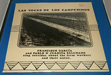 Francisco Garcia Pablo & Juanita Saludado - Las Voces De Los Campesinos 1976 LP