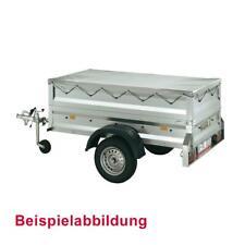Abdeckplane in Silbergrau passend für Stedele Stahlblech-Anhänger MST80A