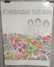The Monkees Extremely Rare Numbered 45th Anniversary Poster - Incredible Details