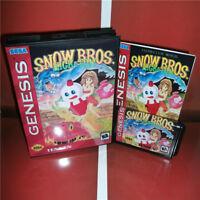 Snow Bros sega megadrive GENESIS  new