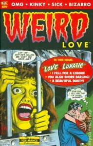 Weird Love 1A Whitney VF+ 8.5 2014 Stock Image