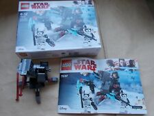 NEW LEGO STAR WARS SET 75198 - FIRST ORDER SPECIALISTS BATTLE PACK, NO MINIFIGS