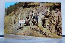 South Dakota SD Broken Boot Gold Mine Deadwood Postcard Old Vintage Card View PC