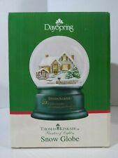 New ListingDayspring Thomas Kinkade Holiday Evening Memories Scripture Snow Globe (2011)