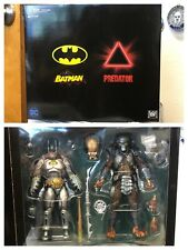 SDCC 2019 NECA ARMORED BATMAN VS PREDATOR EXCLUSIVE NIB