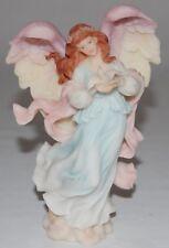 "Romans Seraphim Classics Angel Figurine Monica ""Under Love's Wing"" #78090 1997"