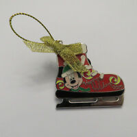 Disney Ice Skate Ornament Mickey Mouse Pin