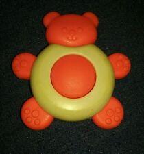 Vintage Fisher Price Teething Bear Squeaky #426 1976 toy play baby developmental
