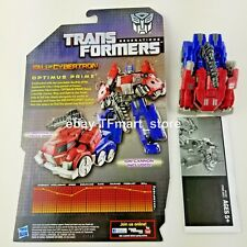 Transformers Generations Fall of Cybertron FOC Cybertronian Optimus Prime 100%