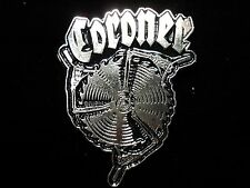 CORONER PIN BADGE