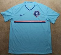 Nike Netherland Soccer Jersey 2008 Euro Alternate Light Blue Mens Large