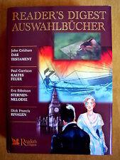 """""""Reader's Digest Auswahlbücher – Das Testament; Kaltes Feuer; Sternenmelodie; …"""""""