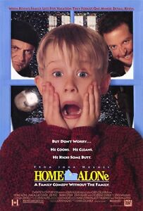 "HOME ALONE Movie Poster [Licensed-NEW-USA] 27x40"" Theater Size John Hughes"