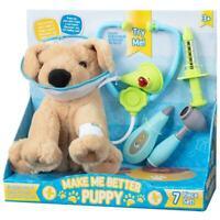 Make Me Better Puppy 7 Pièce Efp Set de Jeux Peluche Chien & Accessoires -