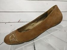 Cole Haan Brown Suede Slip-On Ballet Flats Womens Size 8 B D29605
